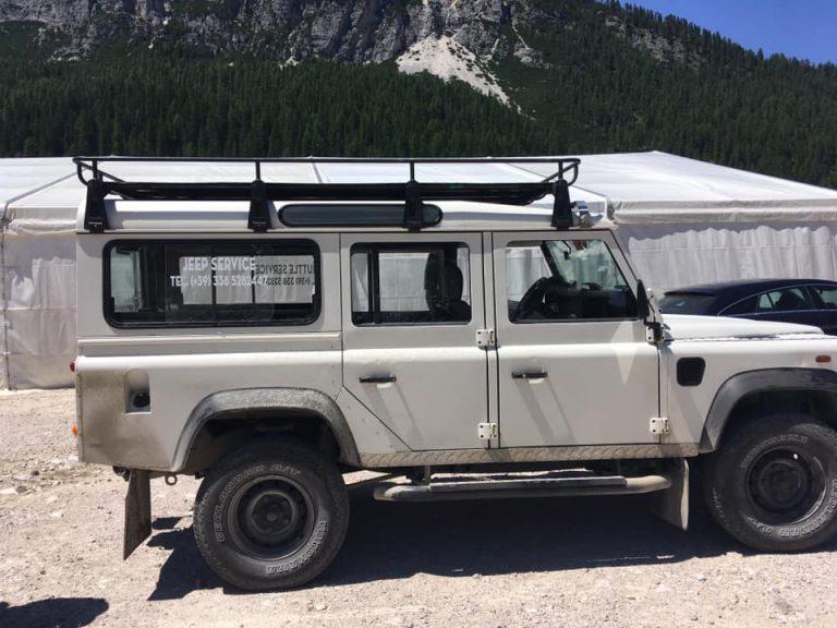 Jeep auf den Monte Piana